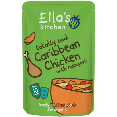 Ella's Kitchen - Stage 3 - Totally Cool Caribbean Chicken With Mangoes