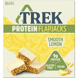 Trek Smooth Lemon Protein Flapjack