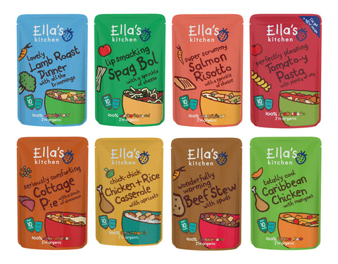 Ella`s Kitchen Stage 3 Selection