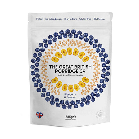 The Great British Porridge Co.  - Blueberry & Banana Porridge