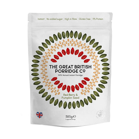 The Great British Porridge Co. - Red Berry & Pumpkin Seed Porridge