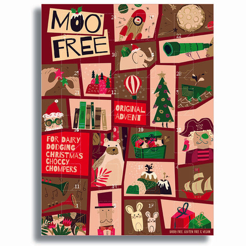 Moo free - Milk Chocolate Alternative Advent Calendar