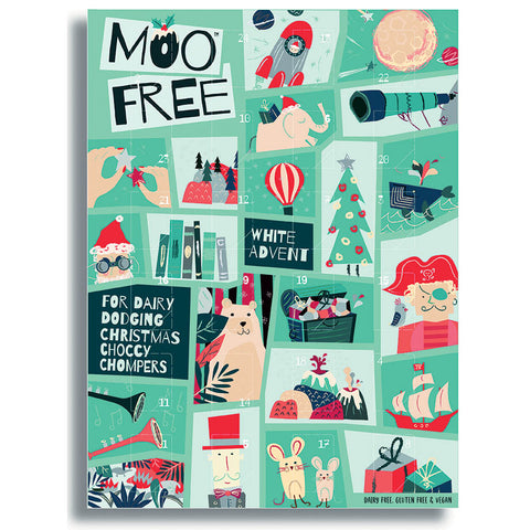 Moo free - White Chocolate Alternative Advent Calendar