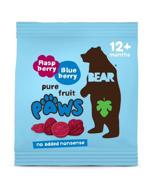 BEAR Raspberry & Blueberry Paws