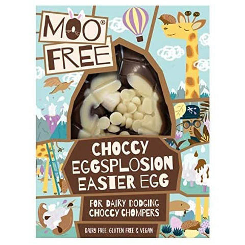 Moo Free - Choccy Eggsplosion Easter Egg 80g