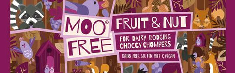 Moo Free - Dairy Dodging Fruit & Nut Choc Bar