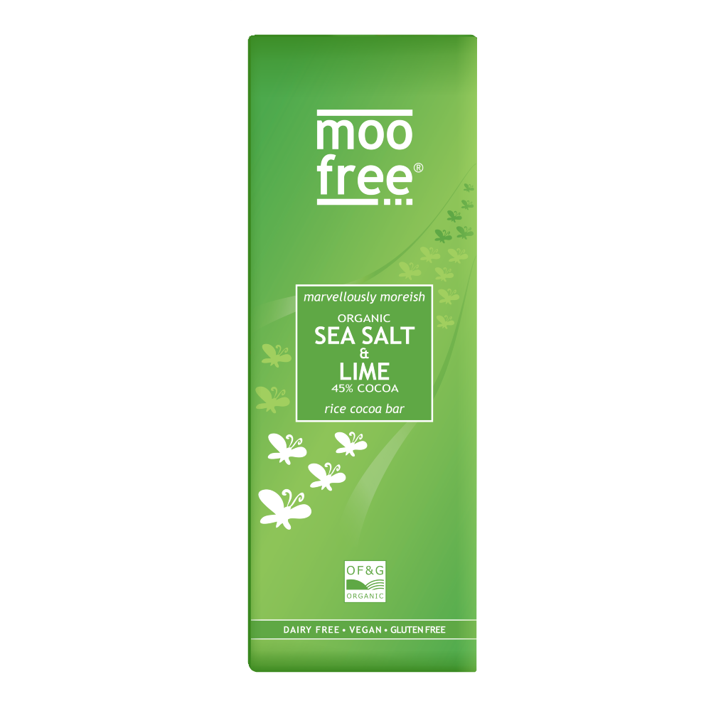 Moo Free Marvellously Moreish Sea Salt & Lime Half Price*