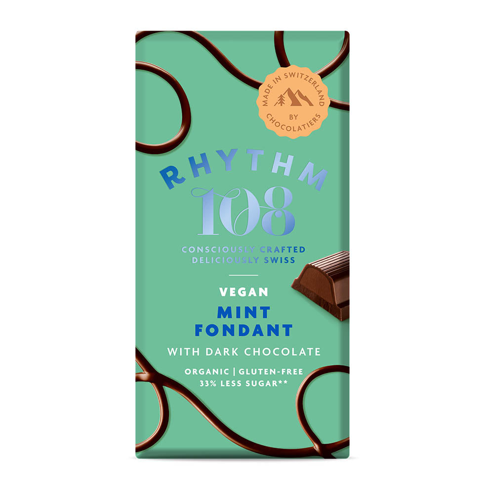 Rhythm 108 Mint Fondant Bar