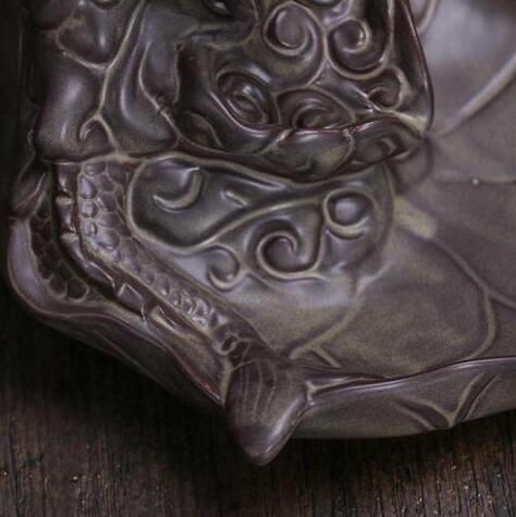 Dragon Ceramic Incense Burner + FREE Cones