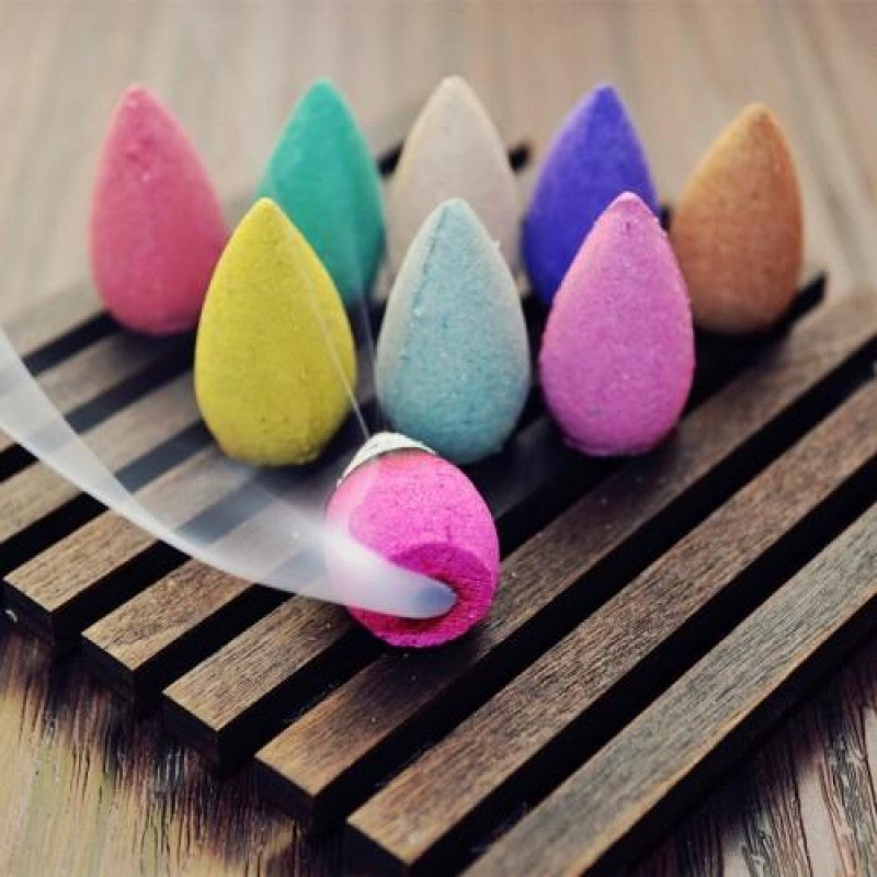 40 Pcs Meditation Incense Bullet Tibetan Natural HerbsBackflow Incenses