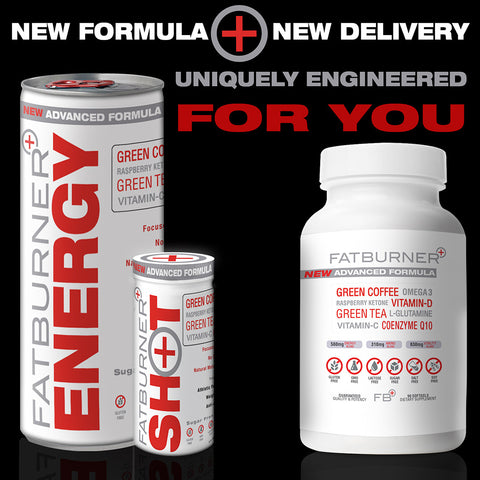 Fat Burner Plus Launches New Advanced Formula and Two New Delivery Methods: FB+ Energy and FB+ Shot fat burner plus