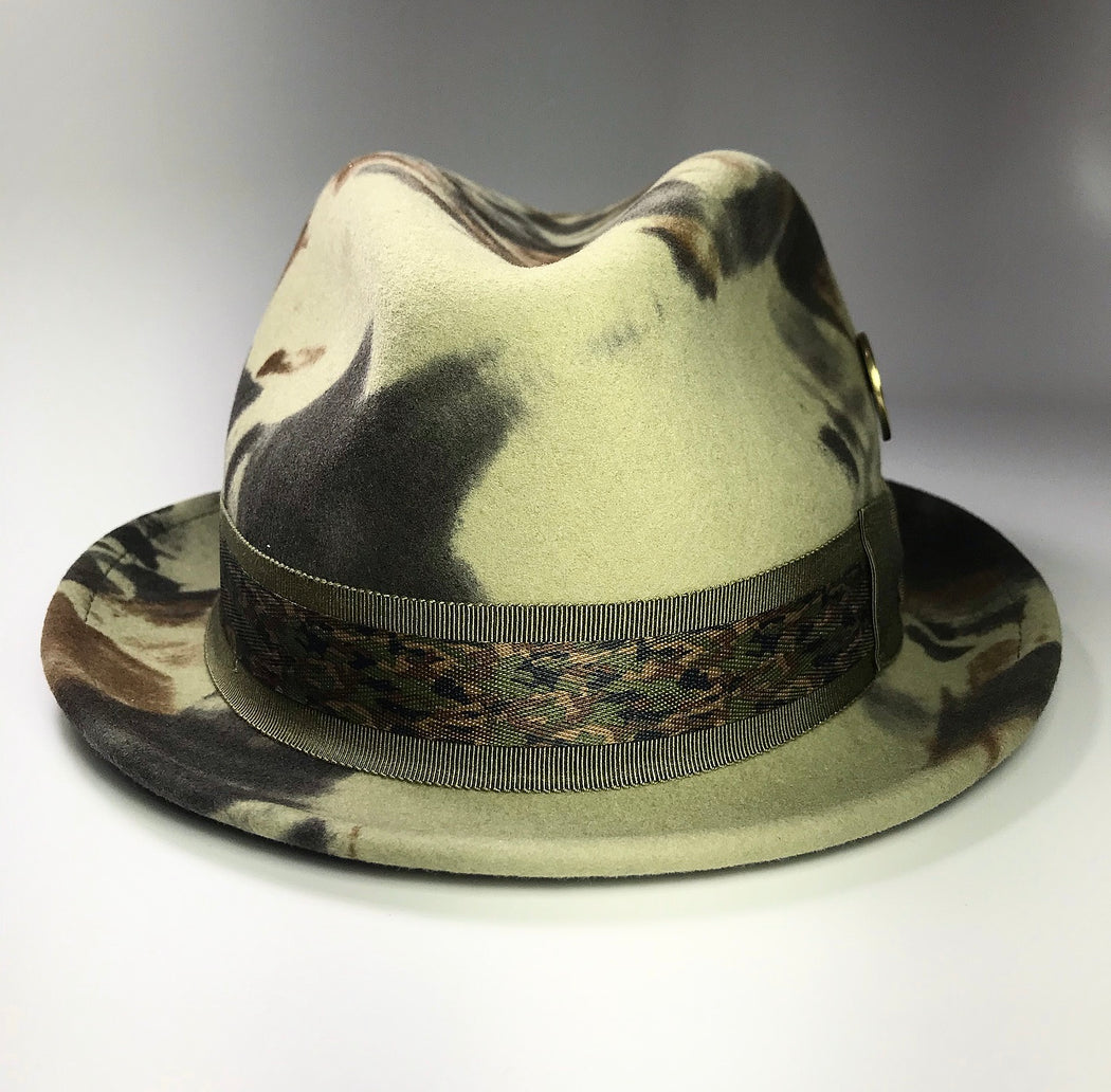 FKHC 332 camouflage Fedora Hat for Men