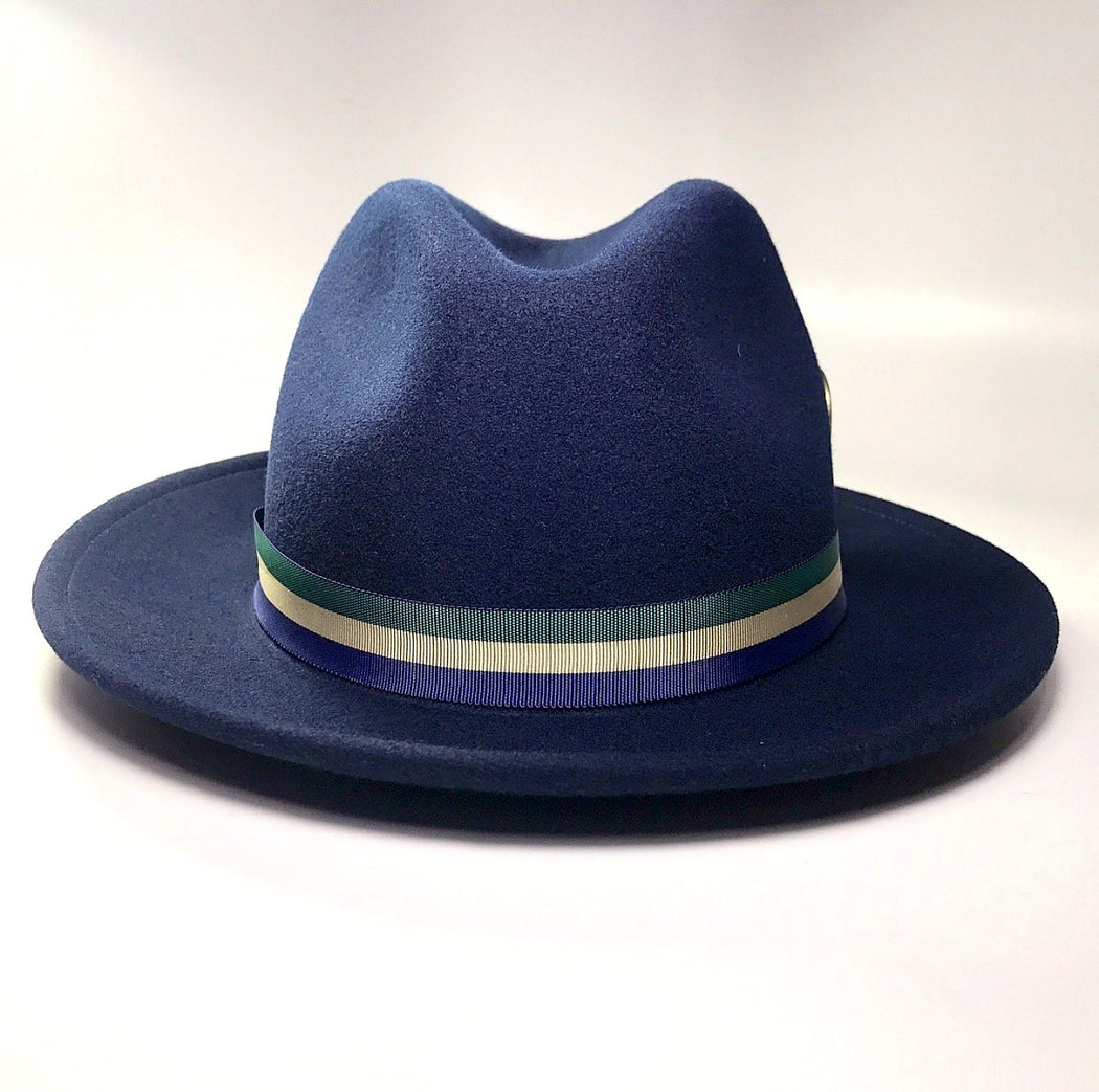 FKHC AUTUMN BLUE FEDORA HAT