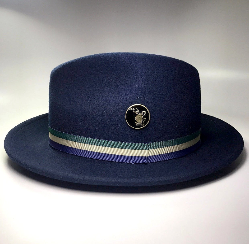 FLAMEKEEPERS HAT CLUB AUTUMN BLUE FEDORA HAT