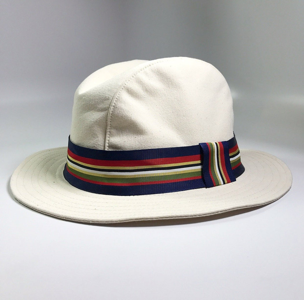 BEACHCOMBER COTTON FEDORA HAT