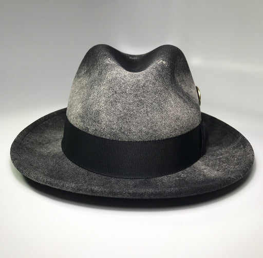 FKHC Black on Black Fedora Hat