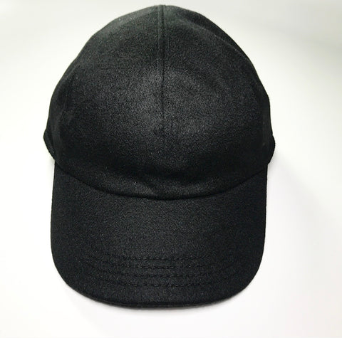the MEDALLION SKULL CAP WOOL BLACK