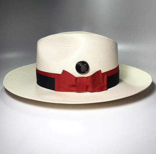 the FLAMEKEEPERS HAT CLUB DAYTONA IVORY FEDORA HAT