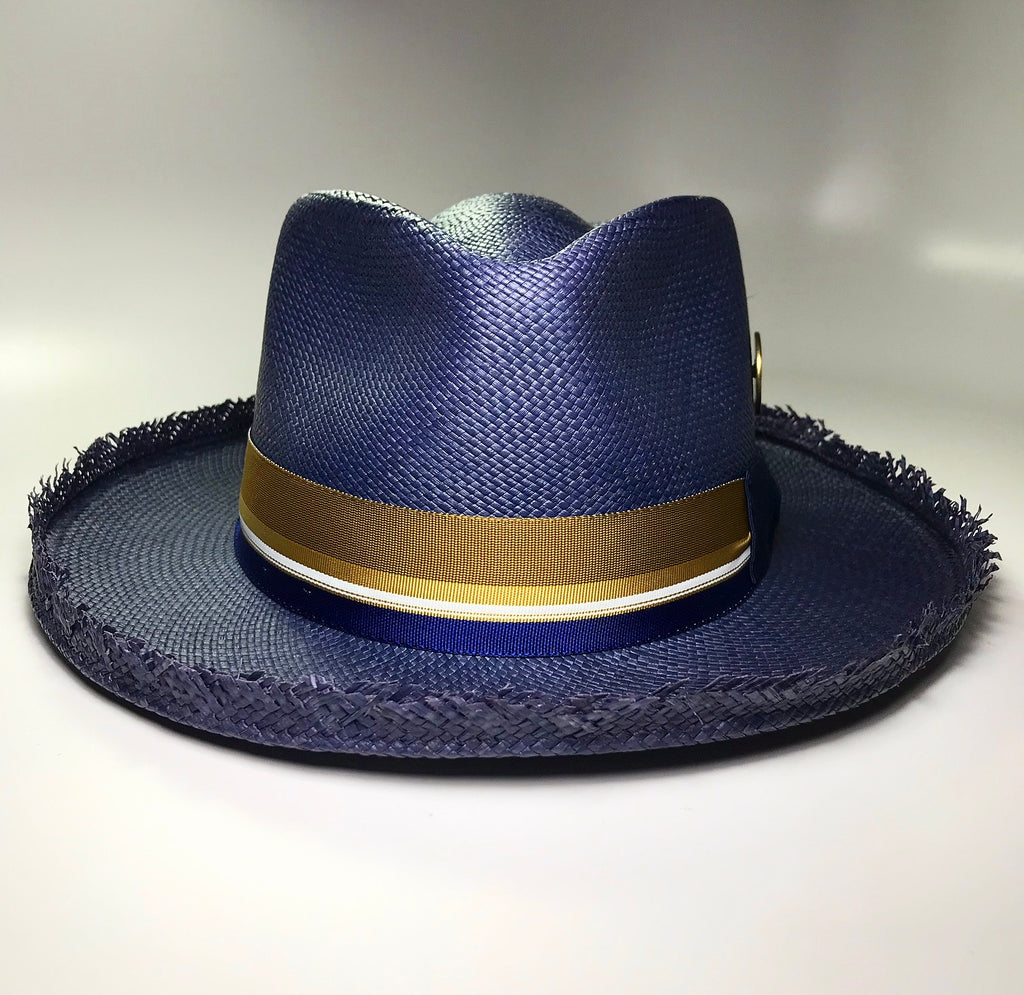 the FLAMEKEEPERS HAT CLUB CASTAWAY NAVY