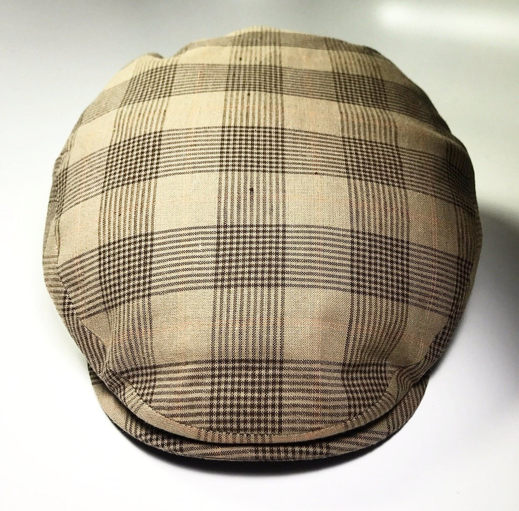 the LINEN IVY MOCHA PLAID