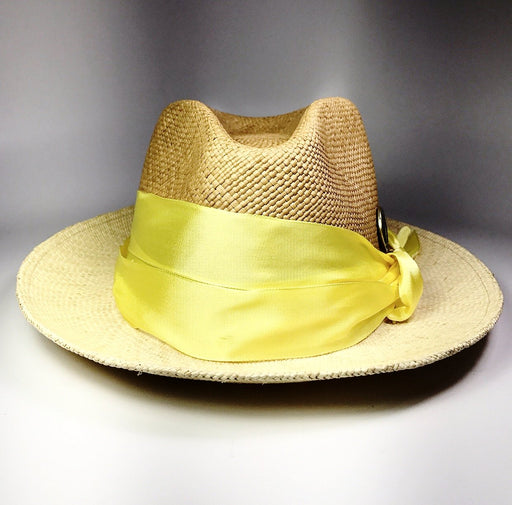 CANARY COLUMBIAN STRAW HAT, BEIGES