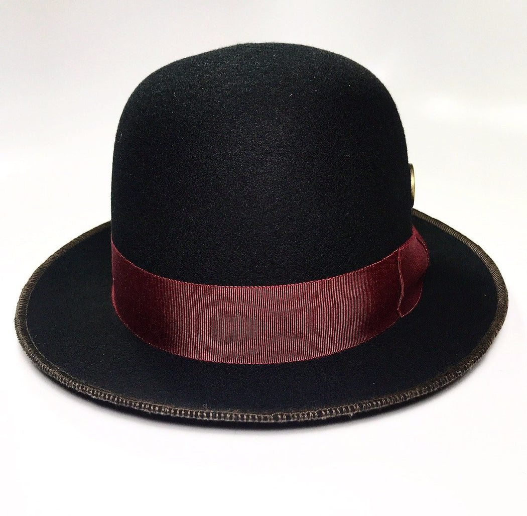 back profile, FKHC DREAM BLACK HAT