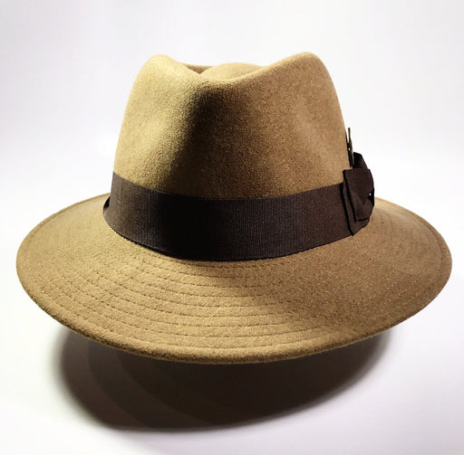the FLAMEKEEPERS HAT CLUB ANTILOPE DIJON FEDORA HAT