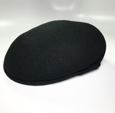 the KANGOL POCKET CAP BLACK