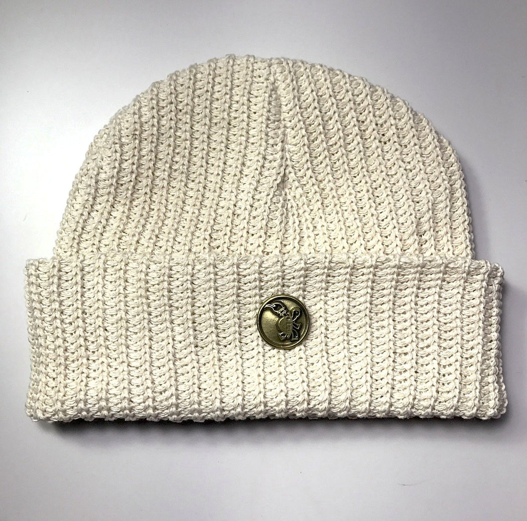 FLAMEKEEPERS HAT CLUB CREAM BEANIE