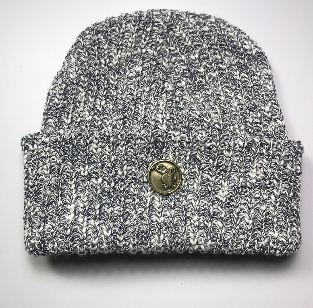 FlameKeepers Hat Club Grey charcoal beanie
