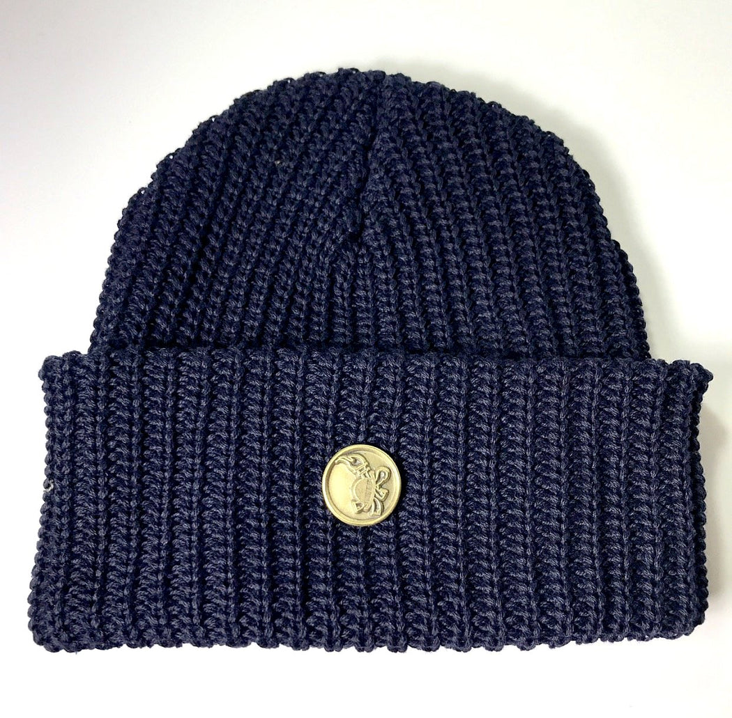 FLAMEKEEPERS HAT CLUB LIGHTWEIGHT BEANIE NAVY BLUE