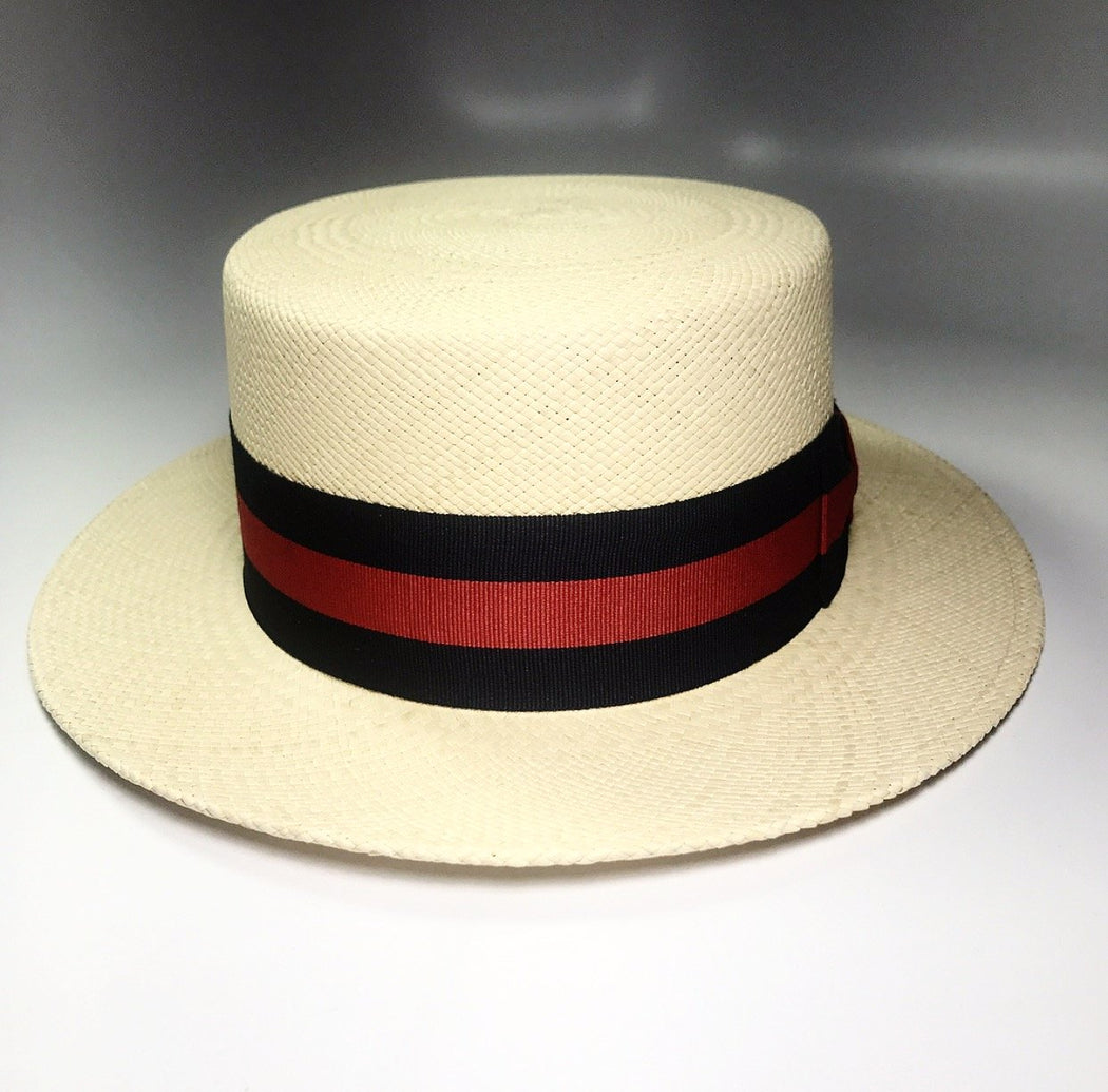 FLAMEKEEPERS HAT CLUB GONDOLIER PANAMA STRAW HAT