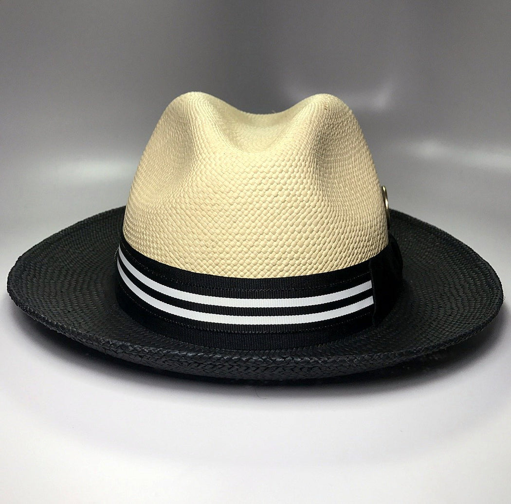 THE DUO C&C PANAMA STRAW PENGUIN HAT