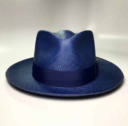 the FLAMEKEEPERS HAT CLUB RIVIERA NAVY FEDORA HAT