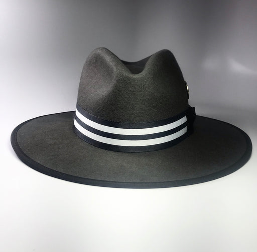 back profile, the FLAMEKEEPERS HAT CLUB WICKET FLAT BRIM GRANITE HAT