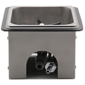 "Krome Pitcher Rinser Counter Top - 6"" x 5.5"" x 2.5"" - Cloud Catcher Coffee Roastery"