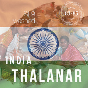 "INDIA ""Thalanar"" Washed Process - Espresso Roast - Cloud Catcher Coffee Roastery"