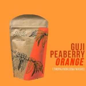 "ETHIOPIA Guji Peaberry ""Orange"" Washed Process - Espresso Roast"