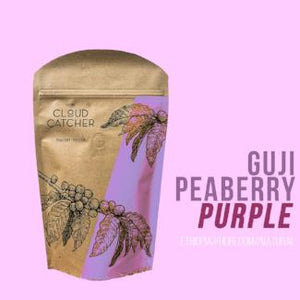 "ETHIOPIA Guji Peaberry ""Purple"" Natural Process - Espresso Roast"
