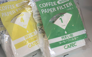 Cafec Cone v60 Paper Filter - Cloud Catcher Coffee Roastery
