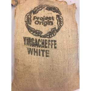 "ETHIOPIA Yirgacheffe ""White"" Washed Process (GREENS) Vacuum Packed"