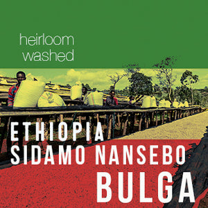 Ethiopia Sidamo Nansebo BULGA - Washed - Cloud Catcher Coffee Roastery