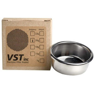 VST Precision Filter Basket 15 / 18 / 20 / 22 grams - Cloud Catcher Coffee Roastery