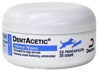 Dentacetic Dental Wipes for Dogs and Cats