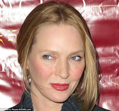 Uma Thurman's age defying complexion due to BIOEFFECT DAYTIME