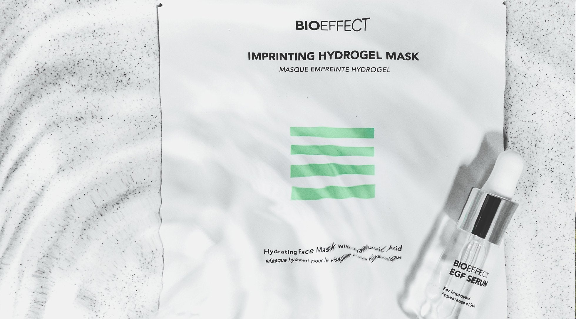 Imprinting Hydrogel Mask - Supercharge Your EGF Serums