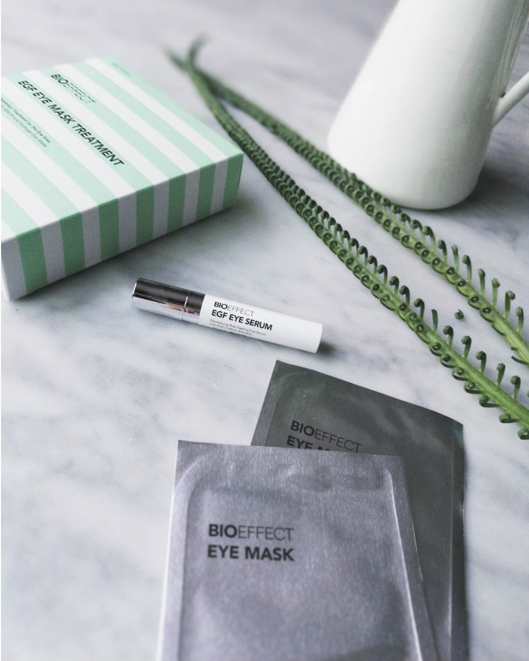 BIOEFFECT Skincare Kit: Hydrating Eye Mask & EGF Eye Serum