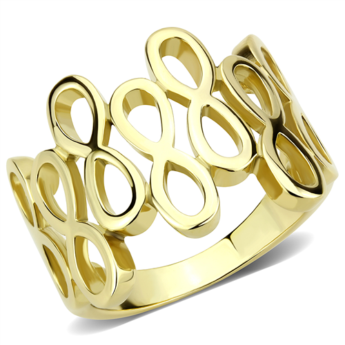Gold Infinity Connection Ring
