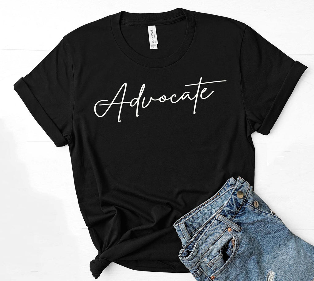 Being Me. Advocate Womens Graphic Tee  | Positive Affirmations T shirts | Short Sleeve Top