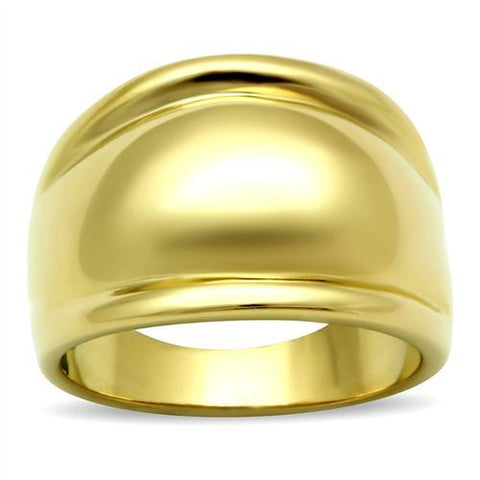 Gold Bubbed Brass Ring